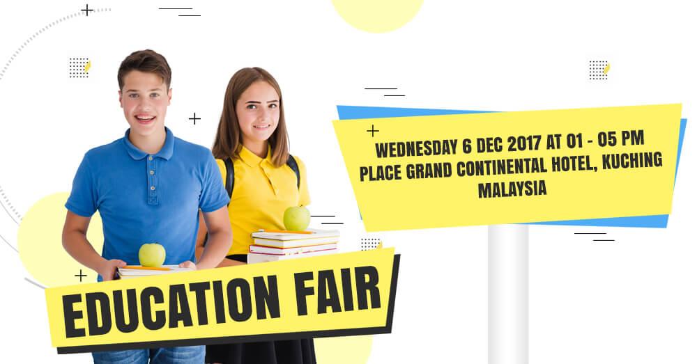 Education Fair at Grand Continental Hotel, Kuching