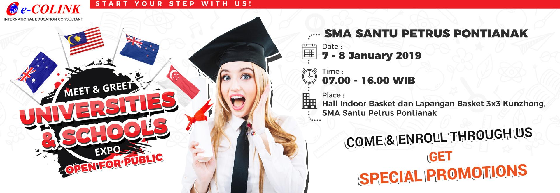 International Education Expo 2019 - SMA Santu Petrus Pontianak