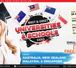 Meet & Greet Universities and Schools Expo 2018